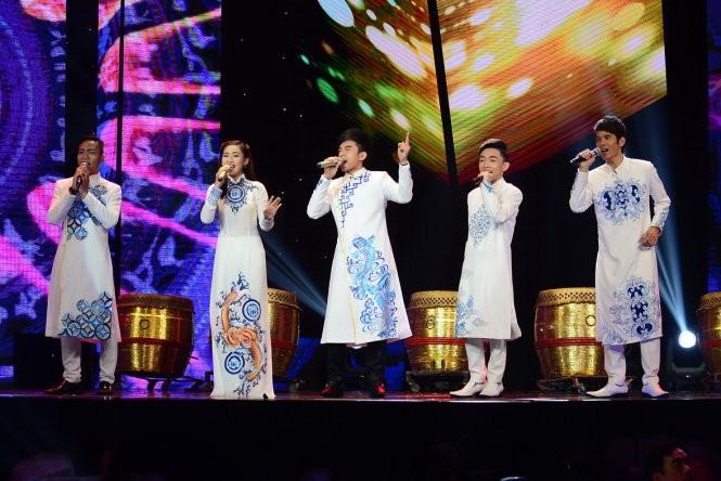 Trung Quang đăng quang Thần tượng Bolero