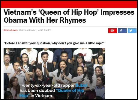Suboi - cô gái đọc rap cho Tổng thống Obama nghe là ai? - ảnh 6