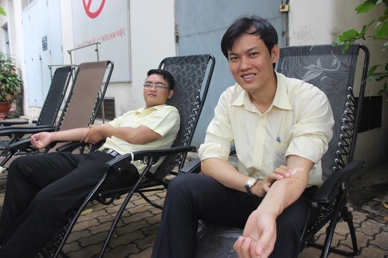 Sở Tư pháp TP.HCM tham gia hiến máu nhân đạo - ảnh 6