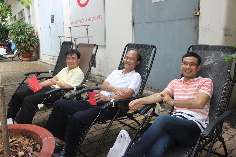 Sở Tư pháp TP.HCM tham gia hiến máu nhân đạo - ảnh 8