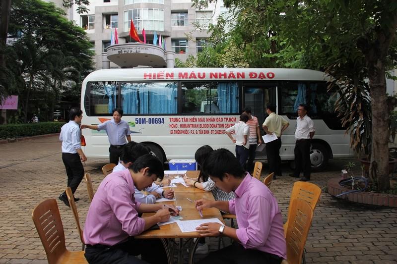 Sở Tư pháp TP.HCM tham gia hiến máu nhân đạo - ảnh 2