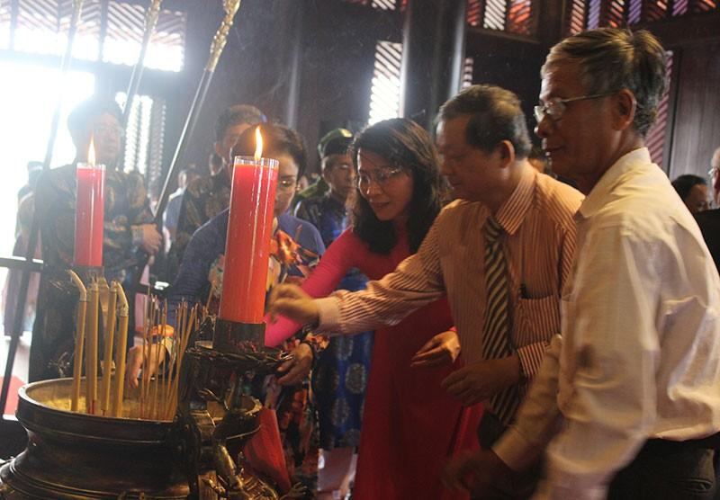 Khánh thành đền thờ Lễ Thành hầu Nguyễn Hữu Cảnh - ảnh 3