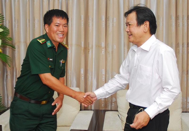 Nguyên Phó Chủ tịch nước Trương Mỹ Hoa chúc mừng báo Pháp Luật TP.HCM - ảnh 10