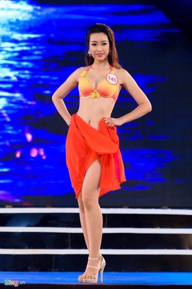 Mỹ Linh từng lọt top 15 cuộc thi Hoa hậu Hoàn vũ Việt Nam 2015