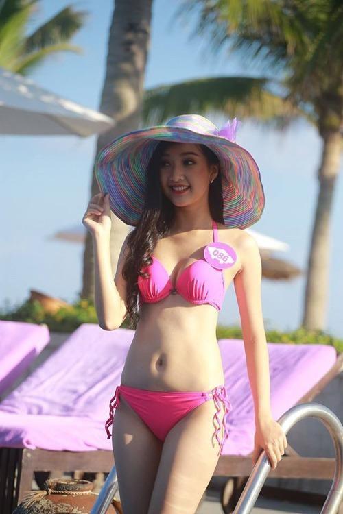Với lợi thế và kinh nghiệm qua những cuộc thi trước, Ngọc Trân được đánh giá rất cao trong số 36 thí sinh vào vòng chung khảo Hoa hậu Việt Nam 2016