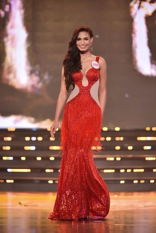 Tại cuộc thi Hoa hậu Việt Nam năm nay, H'ăng Niê mang số báo danh 155