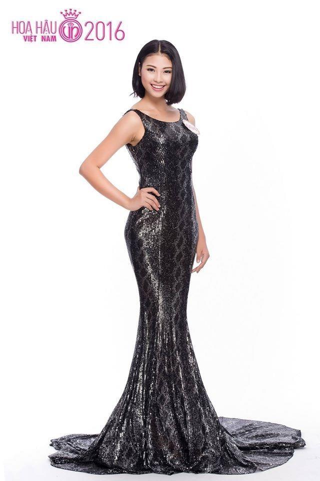 Đào Thị Hà là thí sinh có mái tóc ngắn duy nhất trong top 36 Hoa hậu Việt Nam