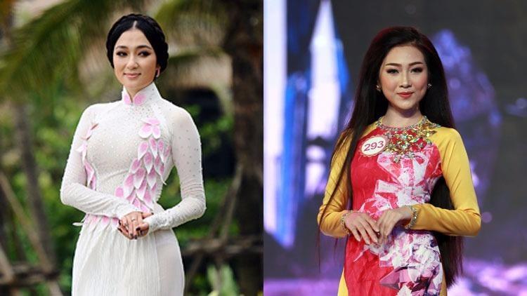Sự trùng hợp lạ kỳ Kiều Vỹ giống chị em song sinh với hoa hậu Nguyễn Thị Huyền