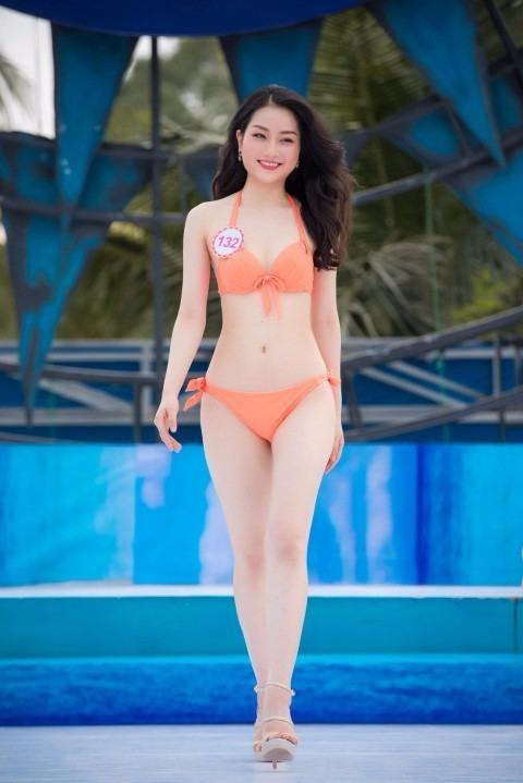 Cô hiện là sinh viên Đại học Quốc tế RMIT