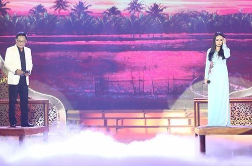 """Nghệ sĩ Tấn Hoàng và đạo diễn Phi Nga song ca bài hát """"Đoạn cuối tình yêu"""""""