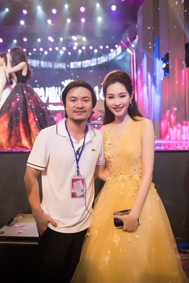 Tổng đạo diễn Hoàng Nhật Nam và hoa hậu Đặng Thu Thảo