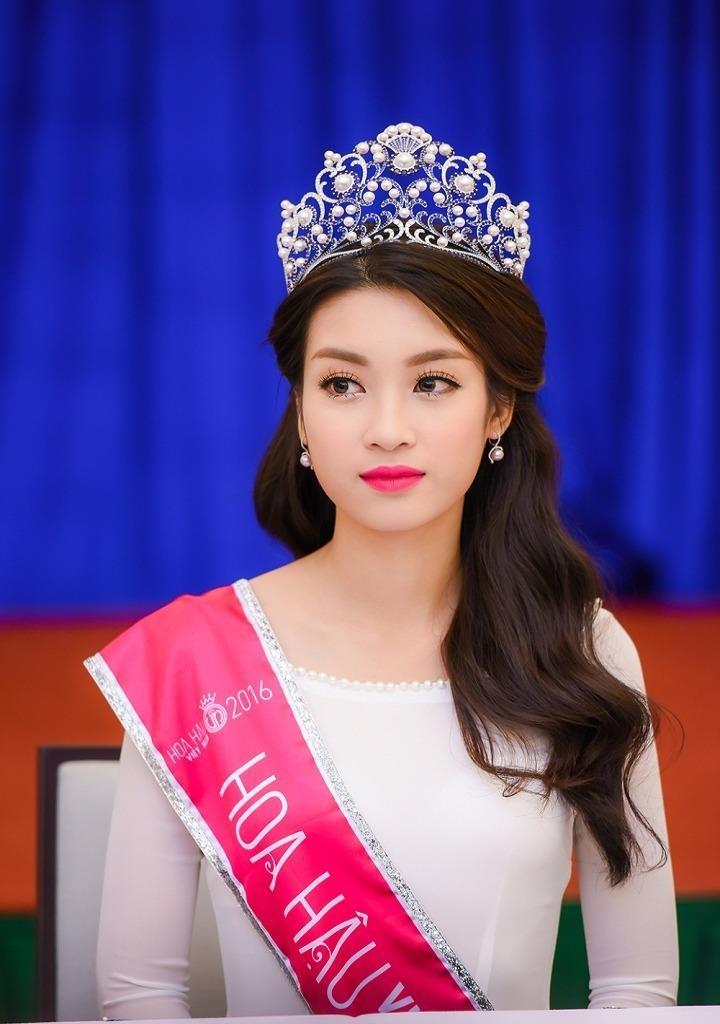 Tân hoa hậu Việt Nam 2016 Đỗ Mỹ Linh.