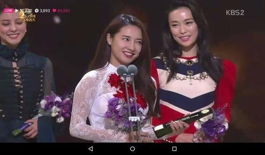 """Vai nữ chính trong bộ phim """"Khúc hát mặt trời"""" đã đem lại cho Nhã Phương danh hiệu Ngôi sao châu Á - Asian Star."""