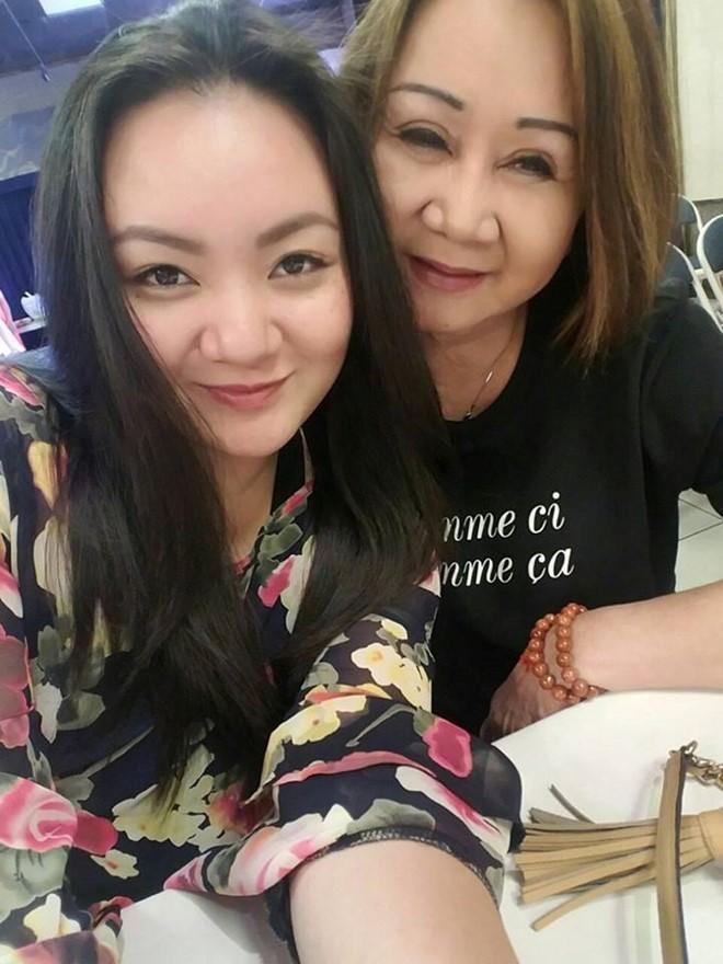'Be' Xuan Mai da lay chong va sinh con o My hinh anh 1