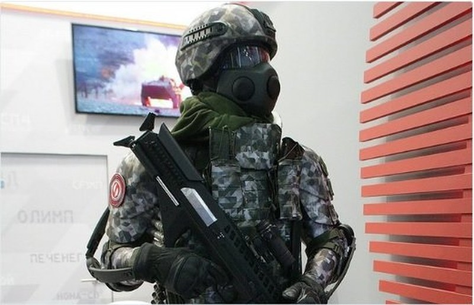 """Ngắm bộ quân phục """"siêu chiến binh"""" của quân đội Nga"""