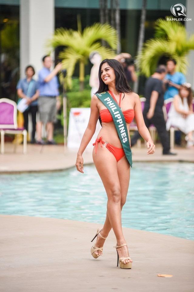 Thí sinh nước chủ nhà Philippines là Imelda Schweighart (sinh năm 1995), sở hữu chiều cao 1,7 m.  Ảnh: ZING