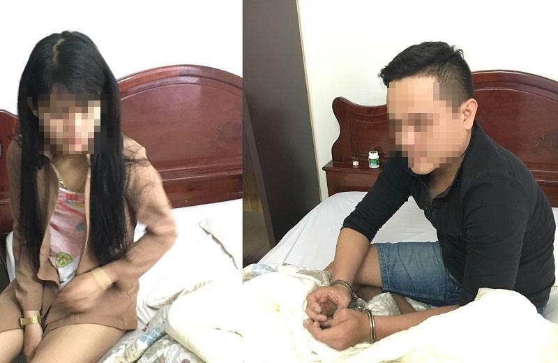 Bắt cặp tình nhân sử dụng thuốc lắc trong khách sạn - ảnh 1