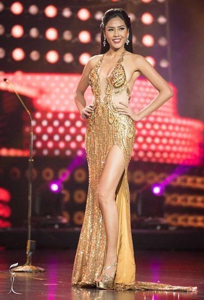 Nguyễn Thị Loan lọt vào tốp 20 Hoa hậu Hòa bình Quốc tế 2016. Đây là thành tích cao nhất của một người đẹp Việt Nam tại cuộc thi Hoa hậu Hòa bình Quốc tế. Ảnh: VNE