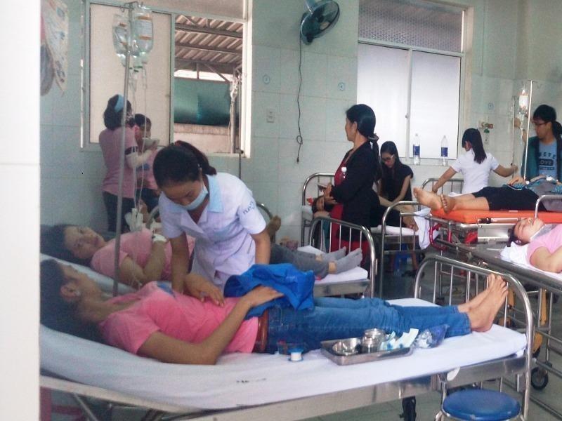 Vụ công nhân nhập viện:Khẩn trương xác minh nguyên nhân - ảnh 1
