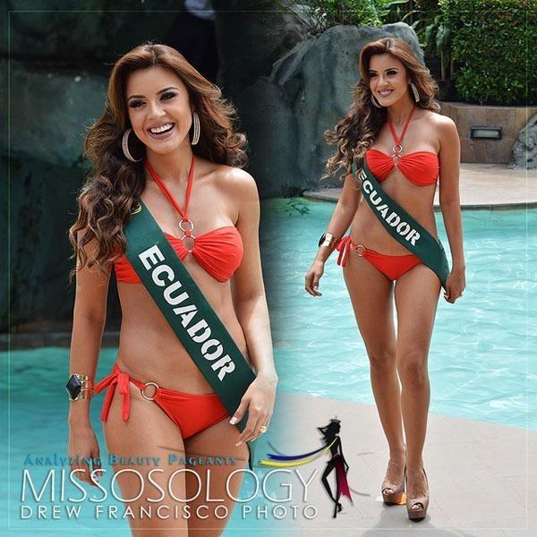 Trước đêm chung kết, cô đã giành giải Thí sinh mặc bikini đẹp nhất do báo chí bầu chọn. Ảnh NGÔI SAO