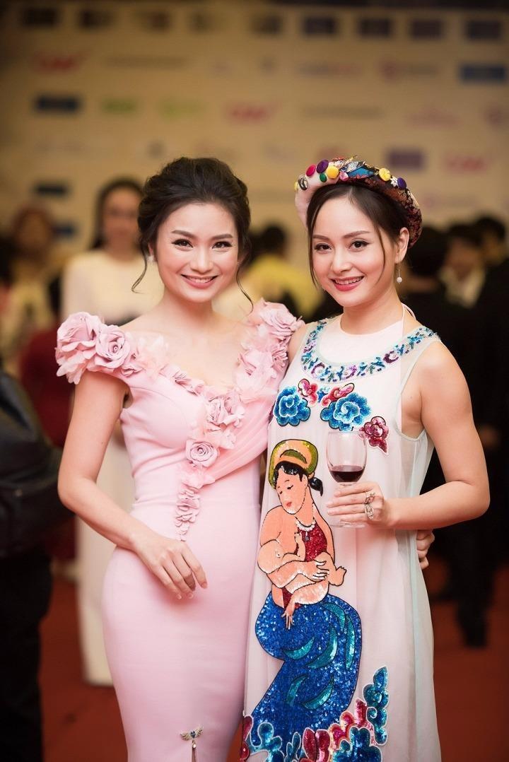 Nữ diễn viên Diệu Hương và Lan Phương. Ảnh VTC