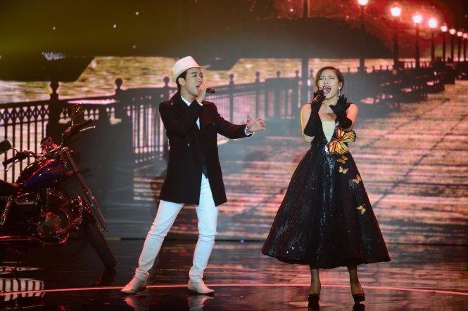 Cặp đôi Triệu Lộc - Thu Trang nhận được 13% lượt bình chọn. Ảnh: TTO