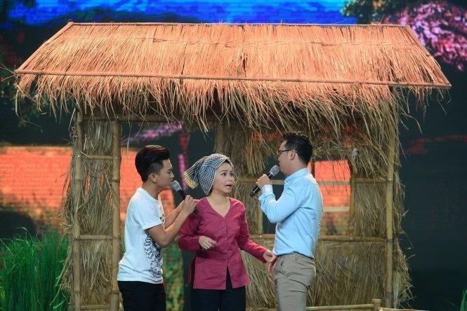 Cặp đôi Thanh Vinh - Văn Hương nhận được 30% lượt bình chọn. Ảnh: TTO