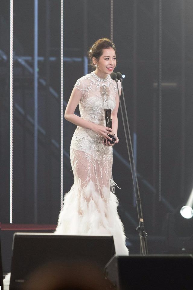 Đây sẽ là kỷ niệm không thể nào quên khi cô đến Hàn Quốc. Cô cũng gửi lời cảm ơn các fan ở Việt Nam đã luôn ủng hộ mình. Thời gian tới, nữ diễn viên trẻ sẽ cố gắng làm việc để xứng đáng với giải thưởng này. Ảnh DÂN TRÍ