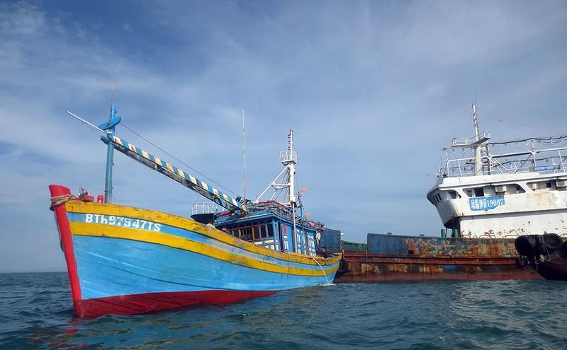 Làm rõ con tàu Trung Quốc bí ẩn trôi trên biển - ảnh 4