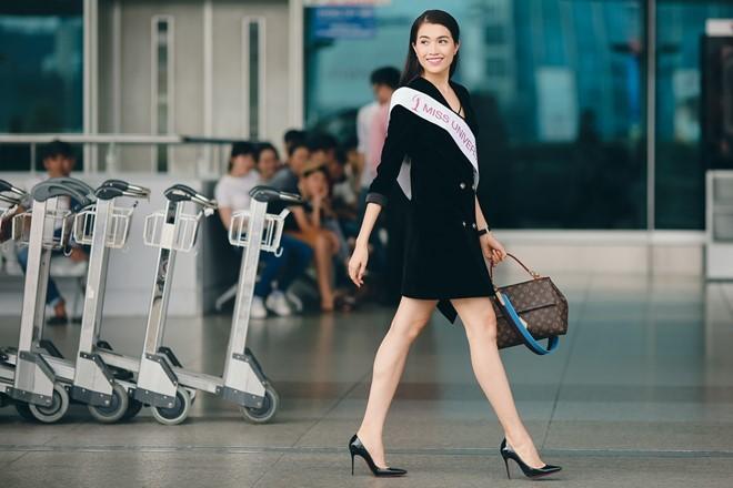 Le Hang duoc chon ghi hinh quang ba Miss Universe hinh anh 1