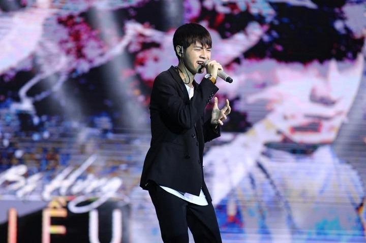 """Cao Bá Hưng với ca khúc """"Kiều"""" đã có trọn vẹn 31 điểm. Ảnh VTC"""