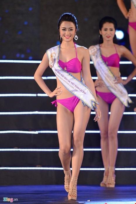 Trần Thị Thu Ngân, 20 tuổi, sinh ra tại Hải Phòng và đang là sinh viên khoa Quản trị khách sạn tại Thụy Sĩ