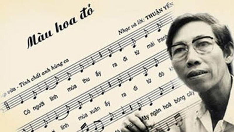 Hình ảnh Màu hoa đỏ của nhạc sĩ Thuận Yến bị cấm hát tại Tiền Giang số 1