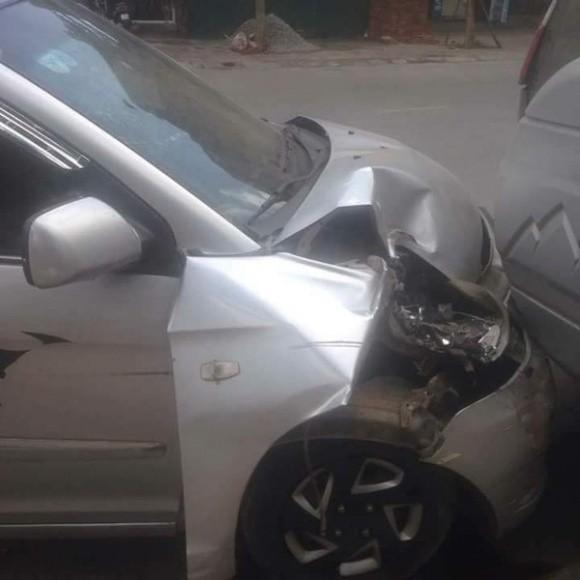 sao việt, sao việt gặp tai nạn giao thông, hiệp gà, hiệp gà tai nạn, hiệp gà bùng tiền sửa xe