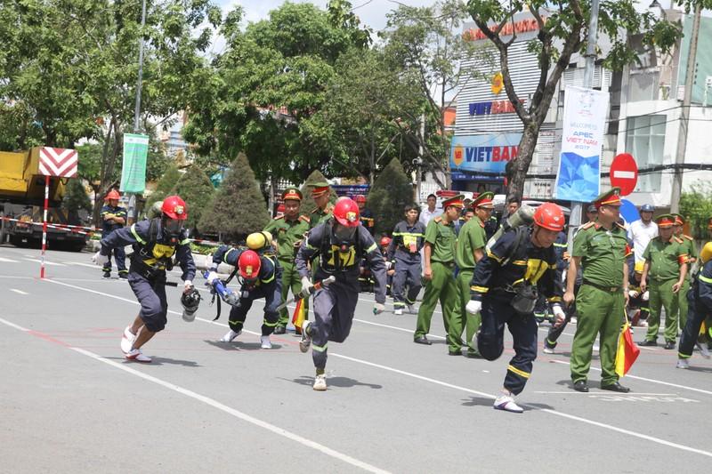 Cảnh sát PCCC Cần Thơ đoạt giải nhất toàn đoàn - ảnh 6