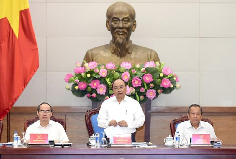 Chính phủ họp về cơ chế đặc thù cho TP.HCM - ảnh 1