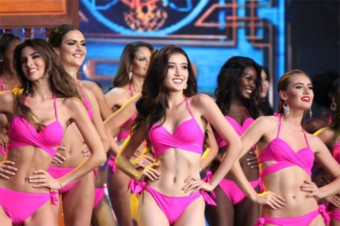 Huyền My dừng chân ở top 10 Hoa hậu Hoà bình Thế giới - ảnh 2
