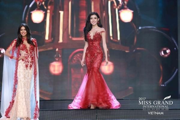 Huyền My dừng chân ở top 10 Hoa hậu Hoà bình Thế giới - ảnh 5