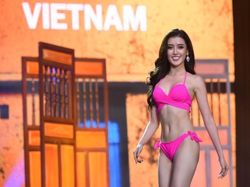 Huyền My dừng chân ở top 10 Hoa hậu Hoà bình Thế giới - ảnh 1
