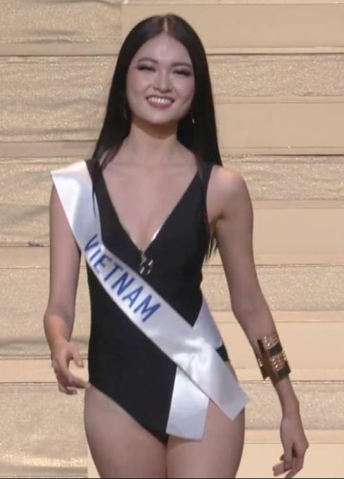 Ngắm Thùy Dung mặc bikini chung kết Hoa hậu Quốc tế  - ảnh 2