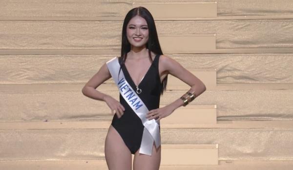 Ngắm Thùy Dung mặc bikini chung kết Hoa hậu Quốc tế  - ảnh 3