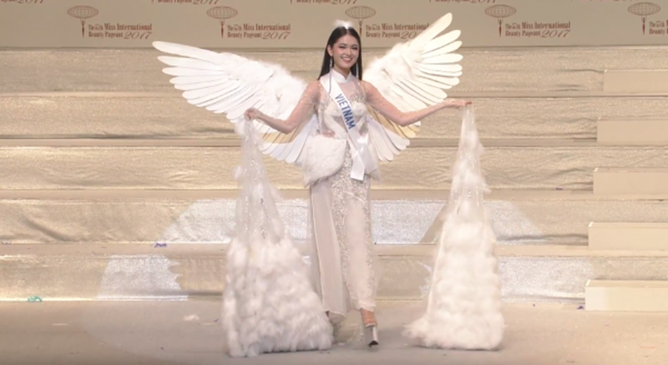 Ngắm Thùy Dung mặc bikini chung kết Hoa hậu Quốc tế  - ảnh 5