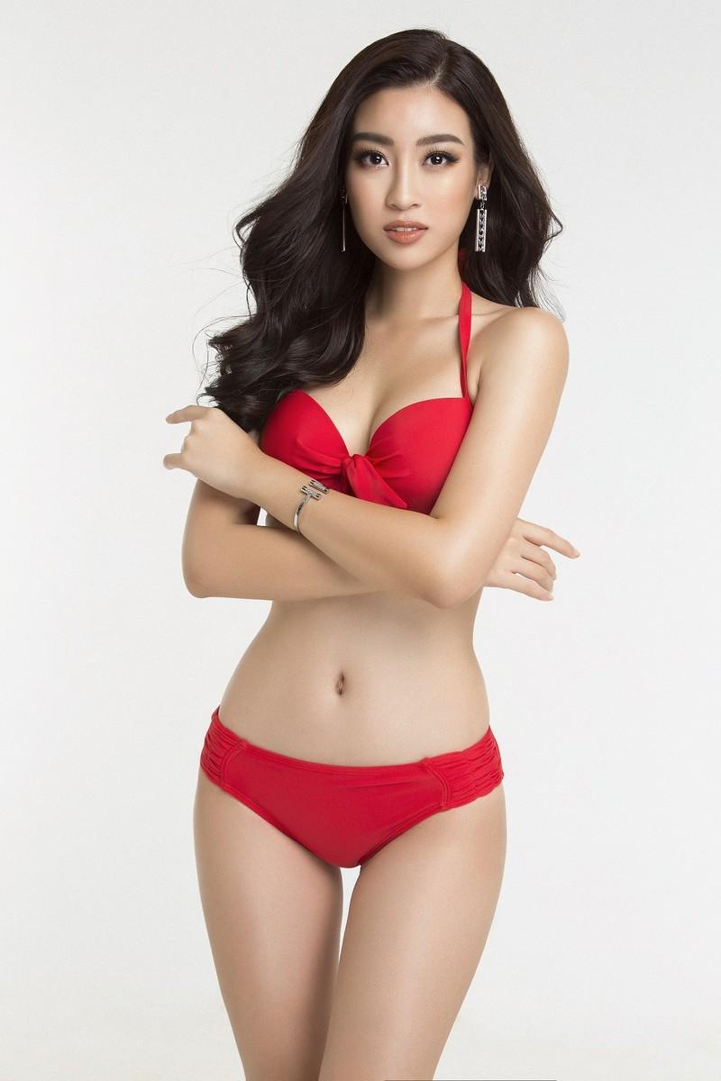 Hoa hậu Mỹ Linh diện bikini trước chung kết Miss World - ảnh 10