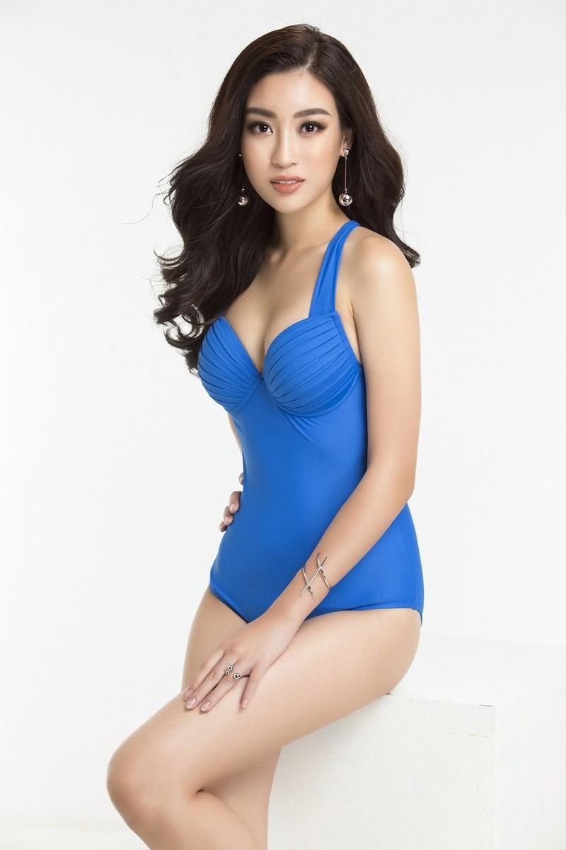 Hoa hậu Mỹ Linh diện bikini trước chung kết Miss World - ảnh 7
