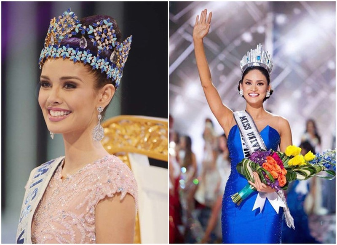 2 Hoa hậu Thế giới và Hoàn vũ Thế giới đến Việt Nam - ảnh 9