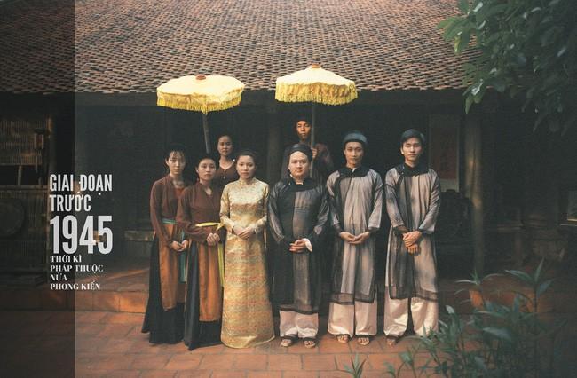 Cặp đôi chụp ảnh tái hiện 100 năm lễ cưới Việt Nam  - ảnh 1