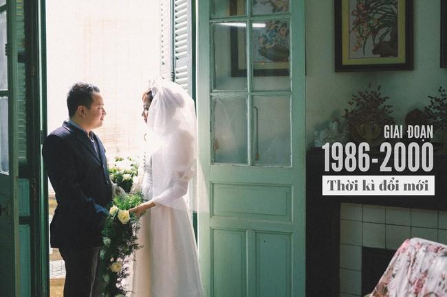 Cặp đôi chụp ảnh tái hiện 100 năm lễ cưới Việt Nam  - ảnh 11