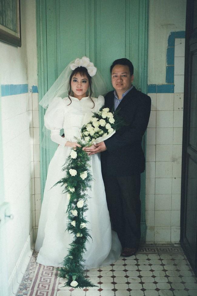 Cặp đôi chụp ảnh tái hiện 100 năm lễ cưới Việt Nam  - ảnh 12