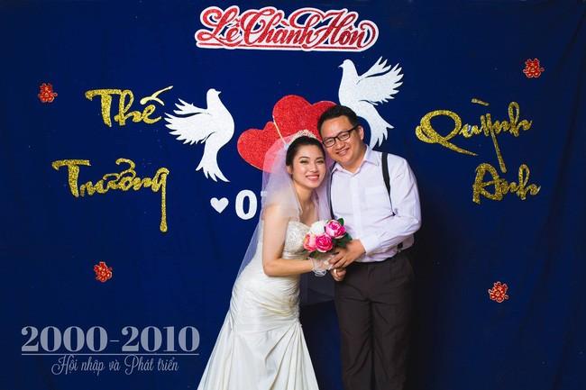 Cặp đôi chụp ảnh tái hiện 100 năm lễ cưới Việt Nam  - ảnh 14