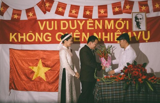 Cặp đôi chụp ảnh tái hiện 100 năm lễ cưới Việt Nam  - ảnh 7